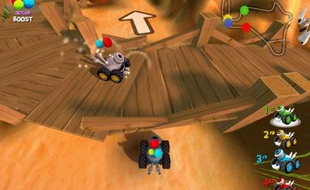 MiniOne Racing-משחק מירוצים מקורי, שמאפשר להתחרות עם רכבים קטנים וצבעוניים.