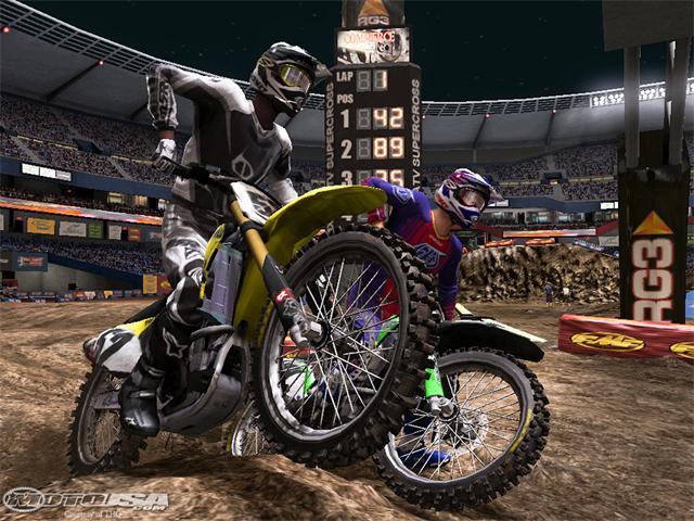 MX vs. ATV: Reflex - מרוצי מוטוקרוס