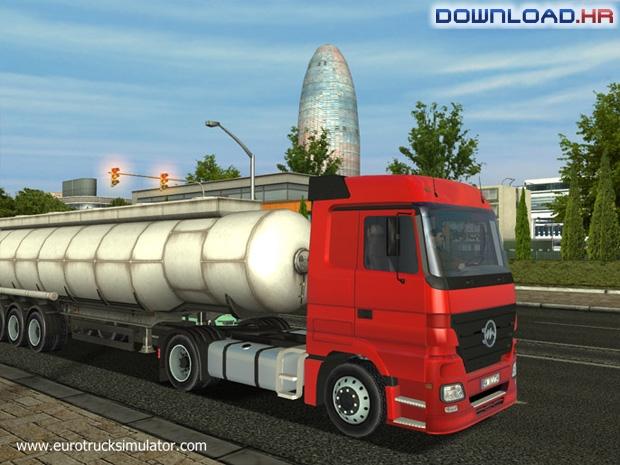 סימולטור משאיות אירופאיות / Euro Truck Simulator