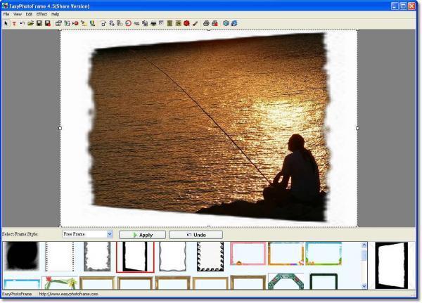 Easy Photo Frame - תוכנה למיסגור תמונות