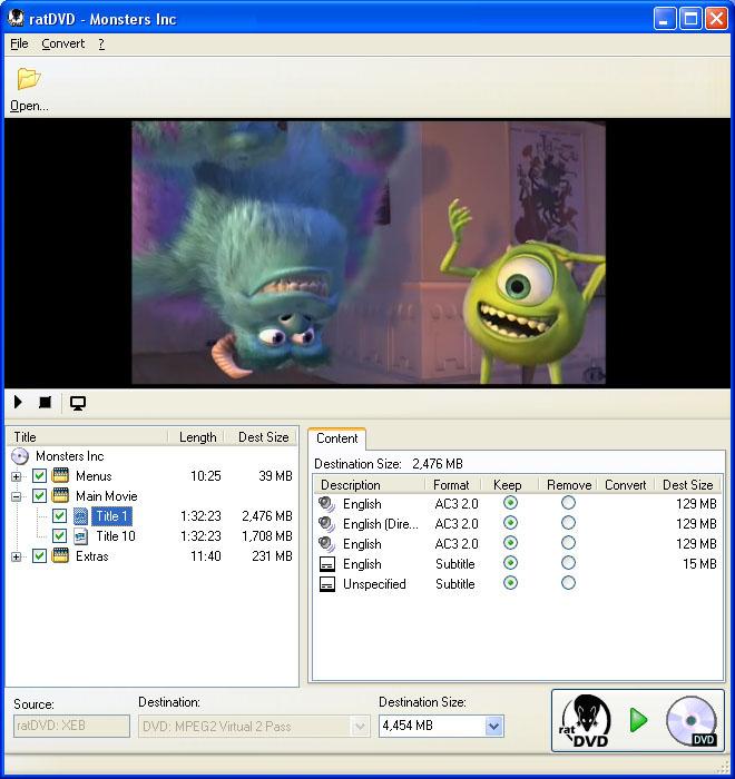 ratDVD-העתקת סרטי DVD