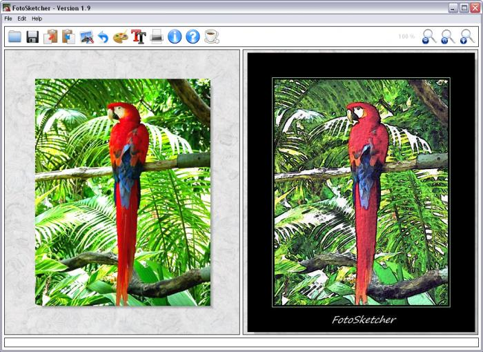 FotoSketcher 2.20 Portable