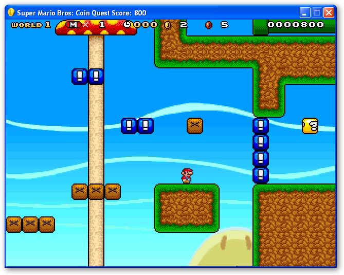 Super Mario Bros: Coin Quest-סופר מריו
