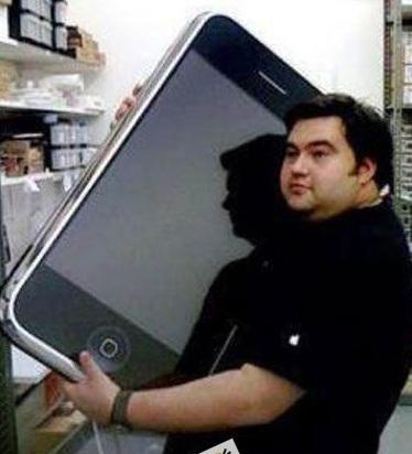צחוקים על האייפון
