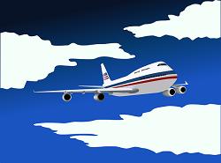 מטוס מתרסק