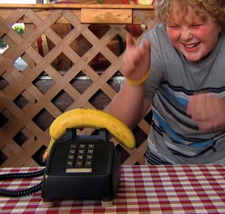 טלפון בננה