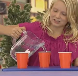 כוסות מים