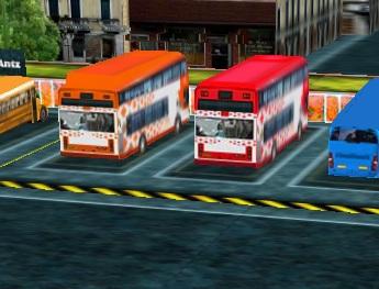 חניון אוטובוסים 3D
