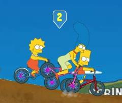 משפחת סימפסון במירוץ אופניים