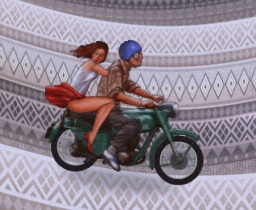 ימים על אופנוע