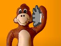העף את הקוף