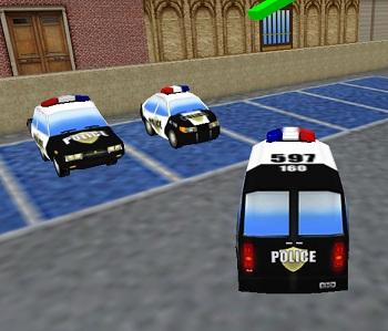 ניידות משטרה: החניון 3D
