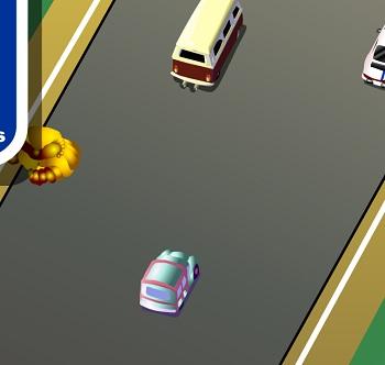המכונית בדרך