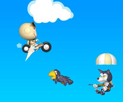 האופנוע המעופף