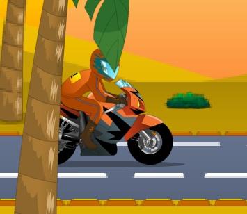 אופנוע בלי שליטה