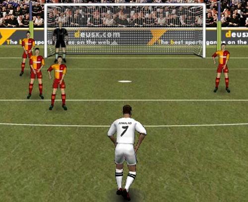 כדורגל מול השער