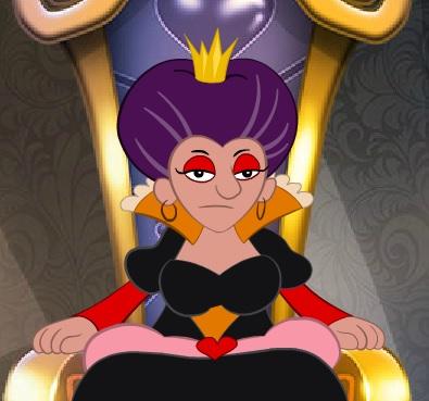 המלכה העצבנית