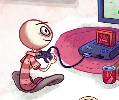 טרול פייס : משחקי וידאו