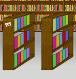 בריחת סוכן: הספריה