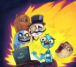 טרול פייס : מלך האינטרנט