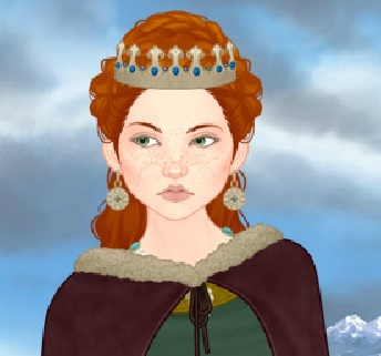 אישה מימי הביניים