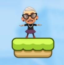 סבתא קופצת לירח