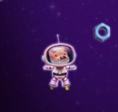 דוקטור אטום וקווארק: הליכת חלל