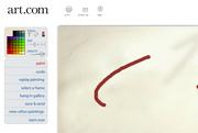 לוח ציור באינטרנט