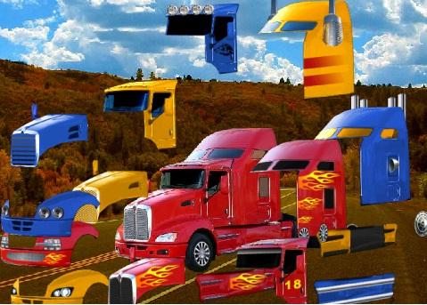 עיצוב משאית