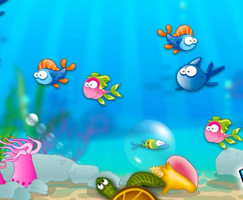 דגים ובועות