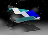 נוסע חלל תלת מימדי