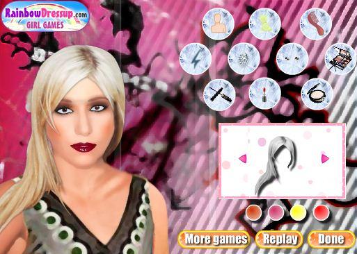 הלבשת ליידי גאגא