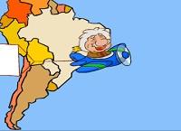 גאוגרפיה-דרום אמריקה
