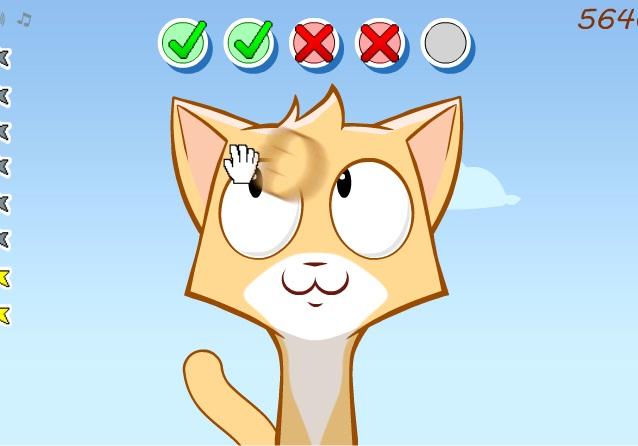 חתול תוקפני