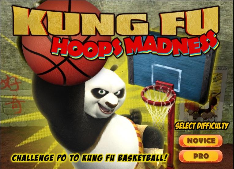 כדורסל עם קונג-פו פנדה