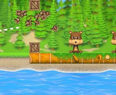 לפוצץ חיות בנהר