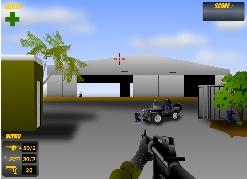 יריות בשדה התעופה