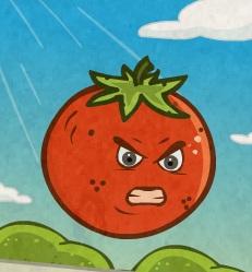 מלחמת הירקות בפירות
