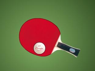 הקפצת כדור פינג פונג