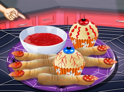 כיתת בישול: חטיפים מפחידים