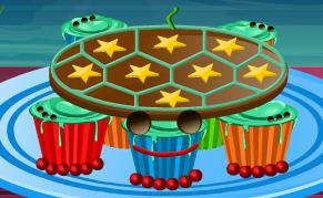 קאפקייקס צבים