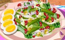 כיתת בישול: סלט שעועית ירוקה