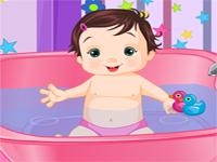 אמבטיה לתינוקת