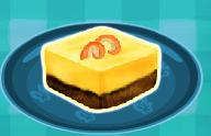 עוגת גבינה בטעם לימון
