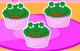 קאפקייקס צפרדעים