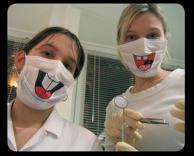 מסיכה של רופא שיניים