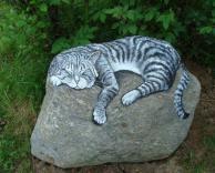 ציור מדהים על סלע