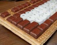 מקלדת משוקולד