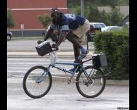 אופניים עם מערכת