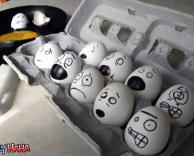 ביצים מפוחדות